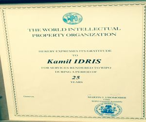 Recognition by the World Intellectual Property Organization (WIPO )